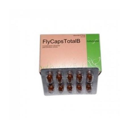 Fly Caps Total B 40 Capsulas 675mg