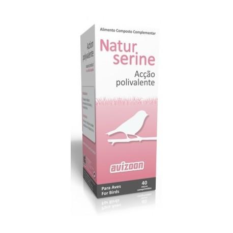 Naturserine 40 micro comprimidos da Avizoon