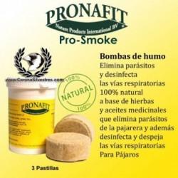 PRONAFIT 3 PASTILHAS DE HUMO